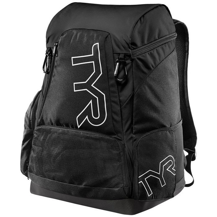 Alliance 45L Black Backpack front