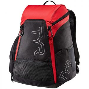 Alliance 45L Black Red Backpack front