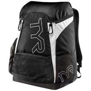 Alliance 45L Black White Backpack front