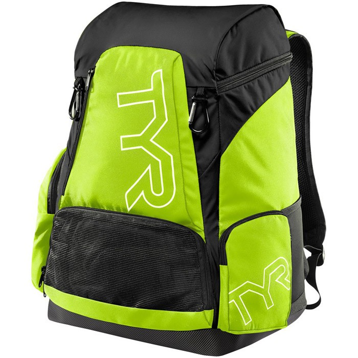 Alliance 45L Lime Black Backpack front