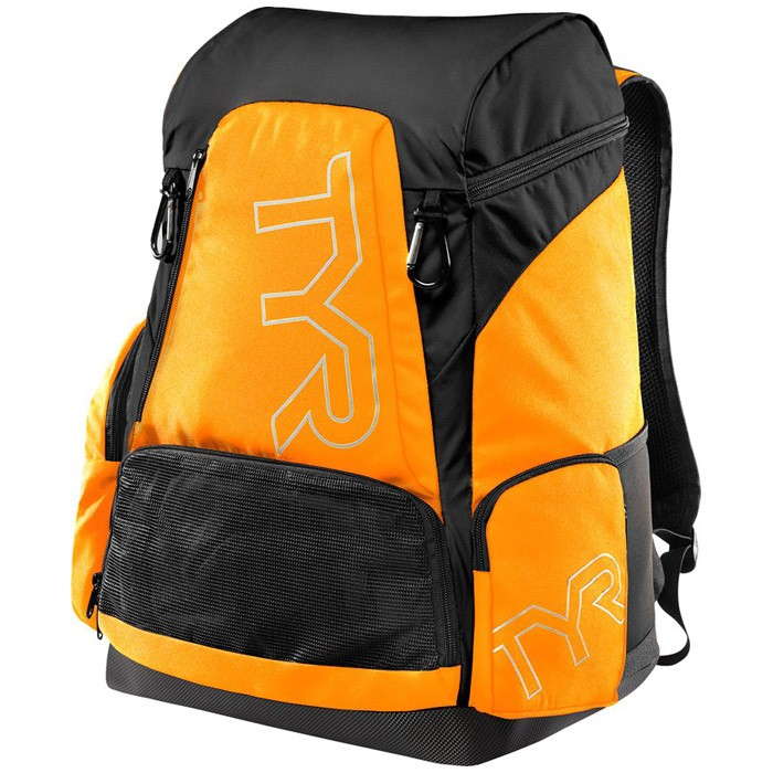 Alliance 45L Orange Black Backpack front