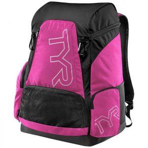 Alliance 45L Pink Black Backpack front