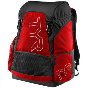 Alliance 45L Red Black Backpack front