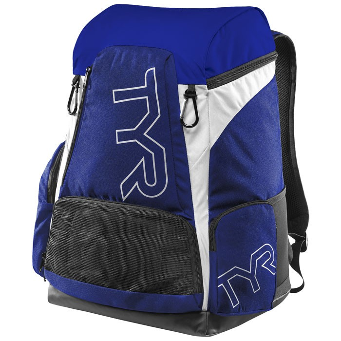 Alliance 45L Royal White Backpack front