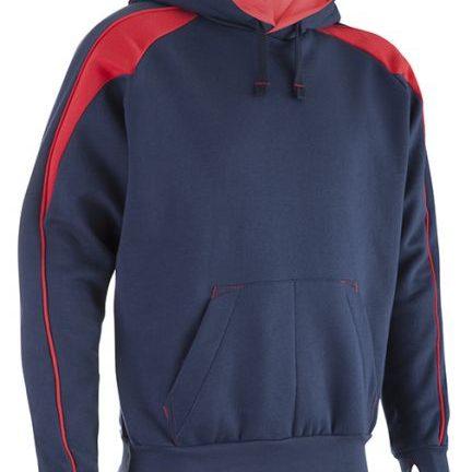 Navy Red Premium Hoodie
