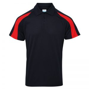 Poolside Contrast Polo Navy/Red