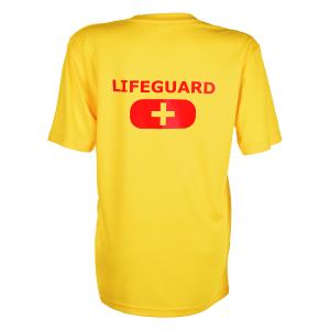 life guard t-shirt womens