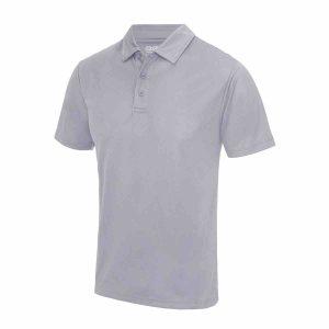 Poolside Polo Shirt Grey