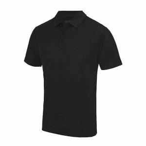 Poolside Polo Shirt Black